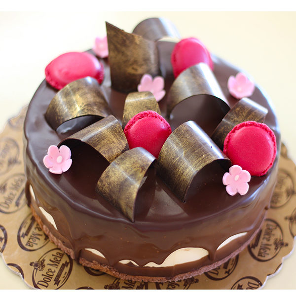 Торта Фрамбоазие от бутикова сладкарница Dolce Mela