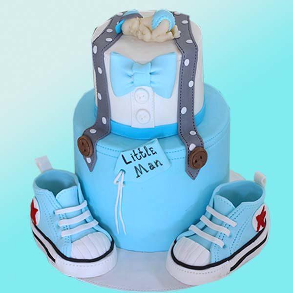 Бебешка торта за момче B01 - Dolce Mela