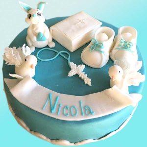 Торта за кръщене на момче B06 - Dolce Mela