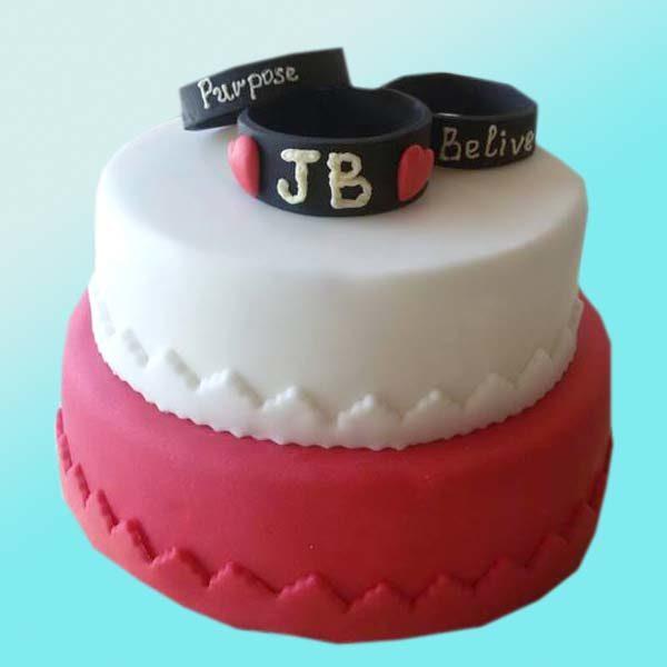 Детска торта Джъстин Бийбър D13 - бутикова с;ладкарница Dolce Mela