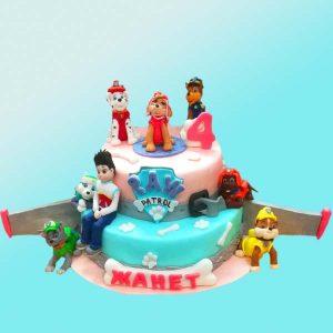 Детска торта Пес Патрул D25 от сладкарница Dolce Mela