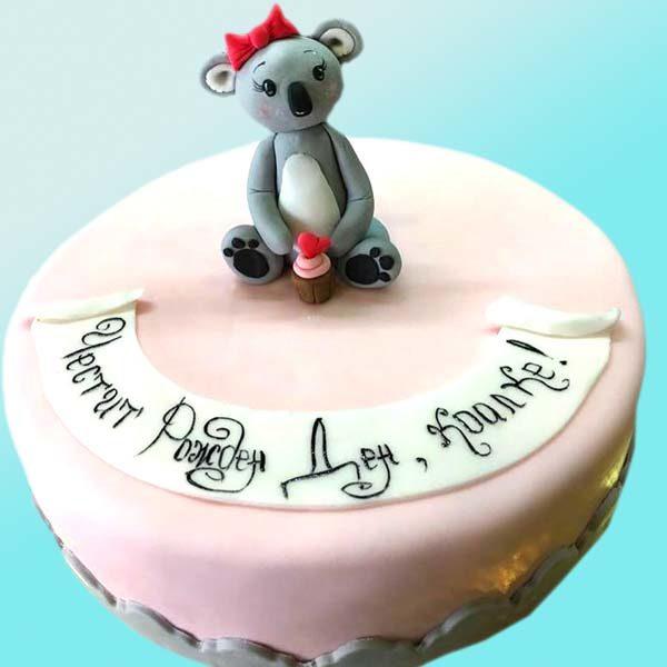 торта коала - RD10 от Dolce Mela