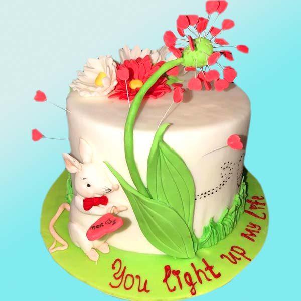 Торта с Мишле - RD12 от Dolce Mela