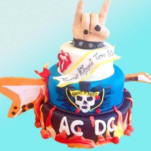 Рок торта - RD19 от сладкарница Dolce Mela