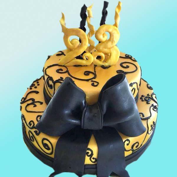 Торта панделка за рожден ден, RD23 от Dolce Mela