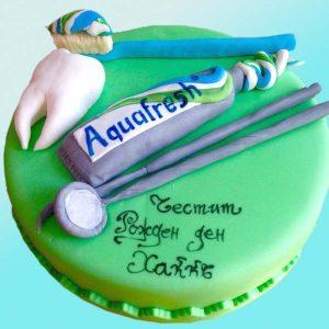 Торта зъболекар, RD27 от сладкарница Dolce Mela