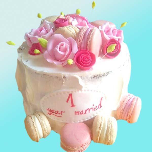 Торта Честита годишнина RD29, от сладкарница Dolce Mela