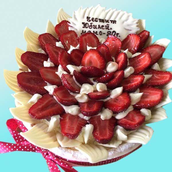 Торта с ягоди RD32, от сладкарница Dolce Mela