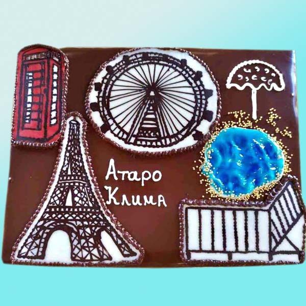 Фирмена торта RD34, от сладкарница Dolce Mela