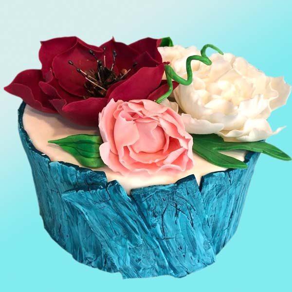 Торта за покана на кумове SV16 - Dolce Mela