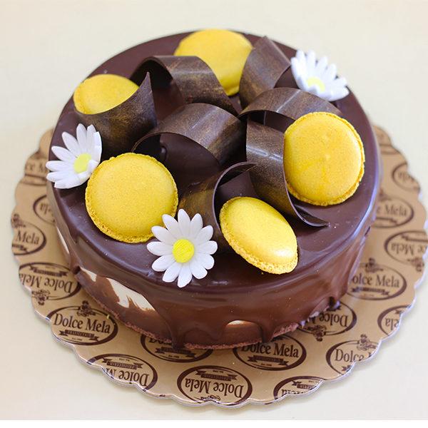Фрамбоазие торта от Долче мела Пловдив