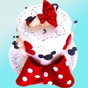 Бебешка торта за момиче B02 - Dolce Mela