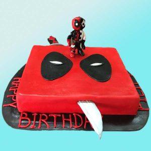Детска торта с анимационен герой нинджа D01, Dolce Mela