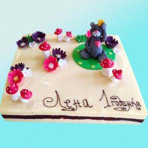 Детска торта с мече за момиче D06, Dolce Mela