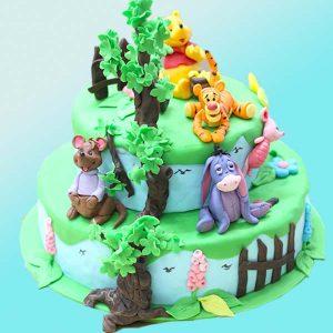 Детска торта Мечо пух и приятели D20 - Dolce Mela