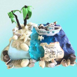 Торта с морски мотиви RD14 от сладкарница Dolce Mela