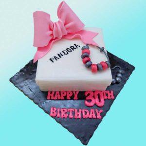 Торта Пандора - RD16 от бутикова сладкарница Dolce Mela