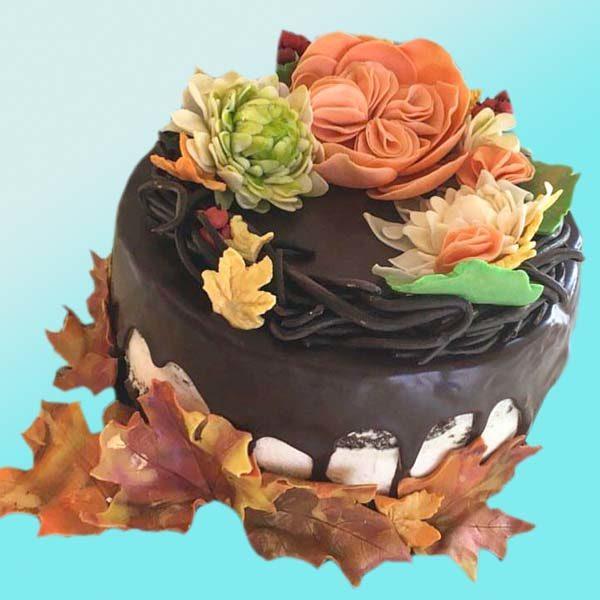 Торта есен RD37, от сладкарница Dolce Mela