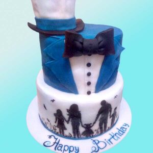 Сватбена торта Щастливо семейство SV08 - сладкарница Dolce Mela